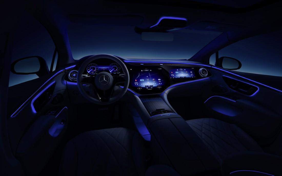 Mercedes-Benz EQS Electric Intérieur