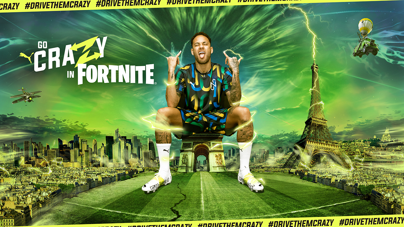PUMA FUTURE Z Fornite x Neymar Jr