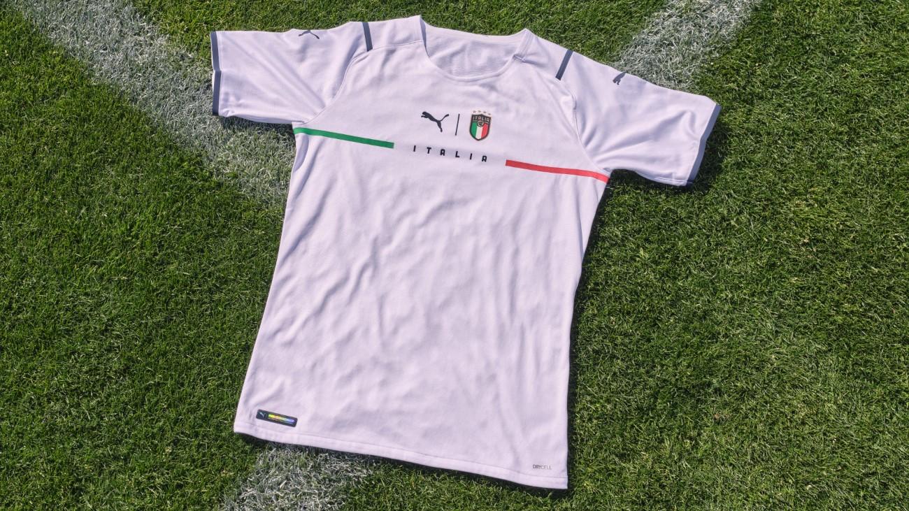 PUMA Football - Kit extérieur Euro 2021 - Italie