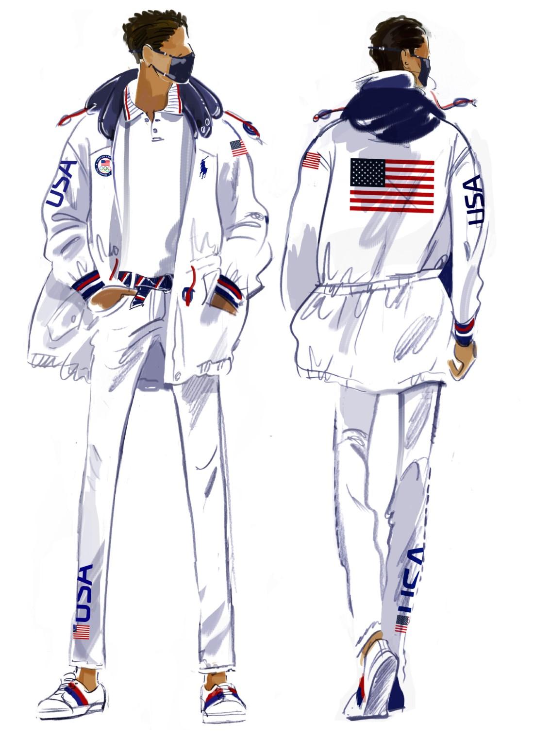 Ralph Lauren - Jeux Olympiques Tokyo 2021