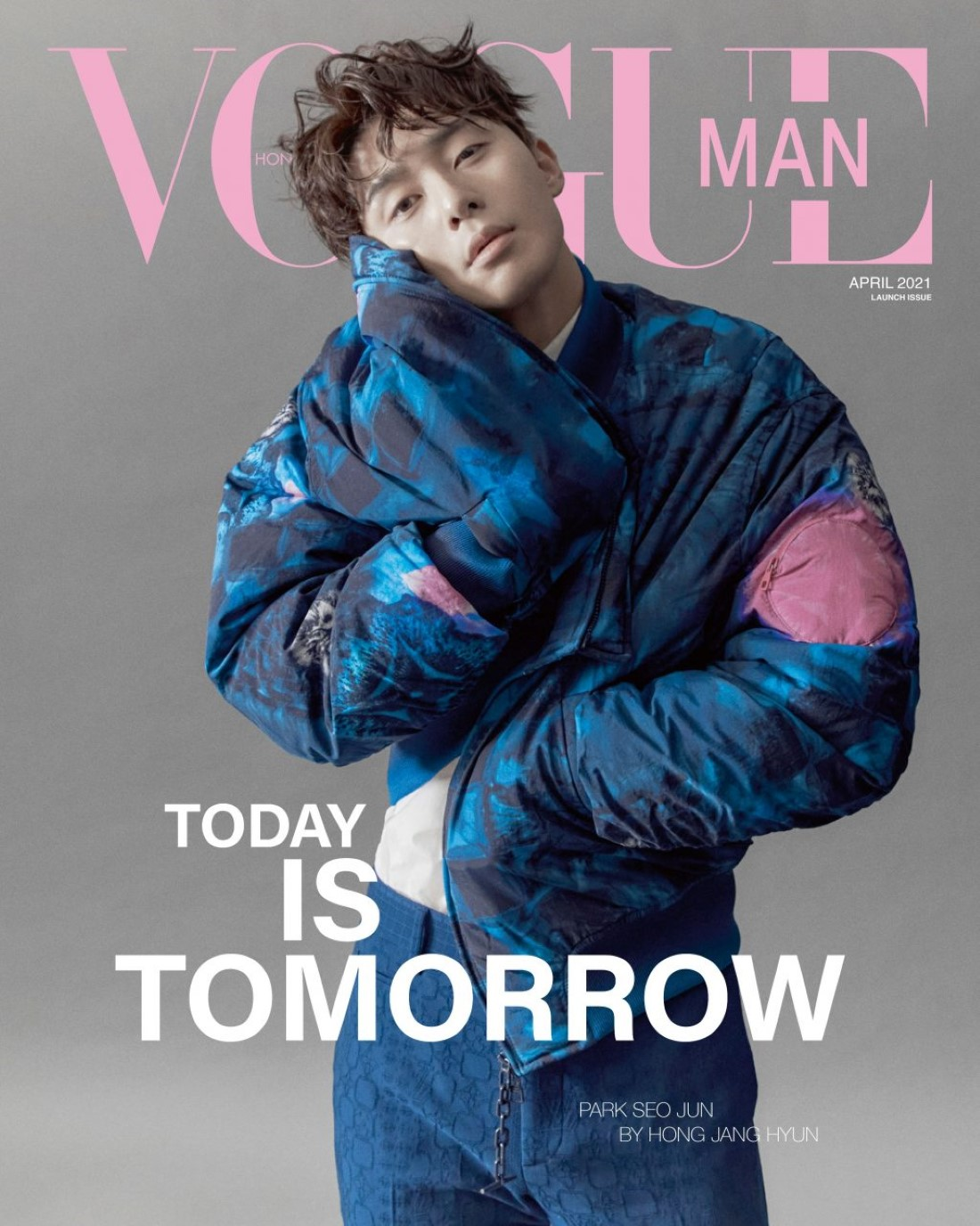 Vogue Man Hong Kong x Park Seo Jun