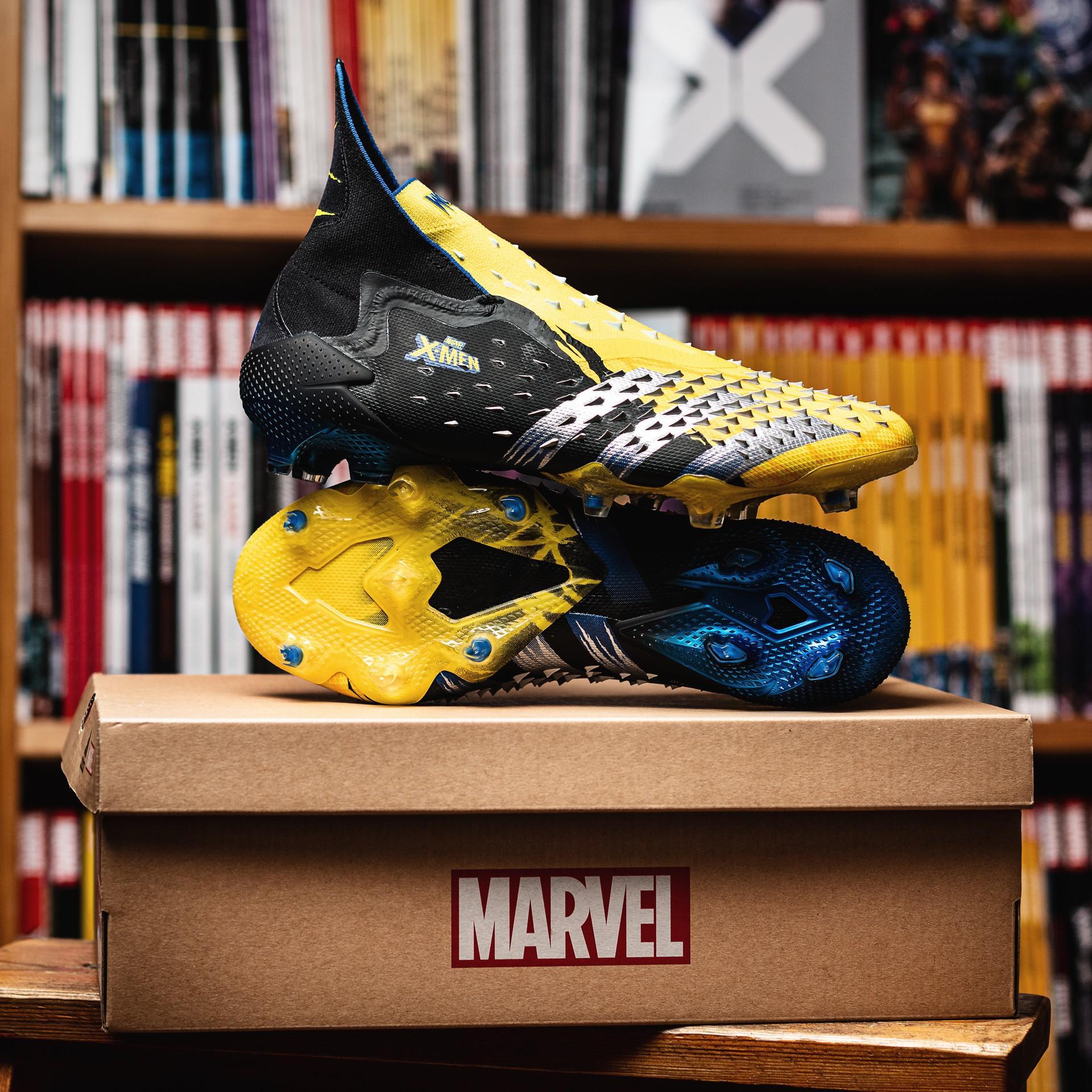 X Men x adidas Predator Freak Wolverine