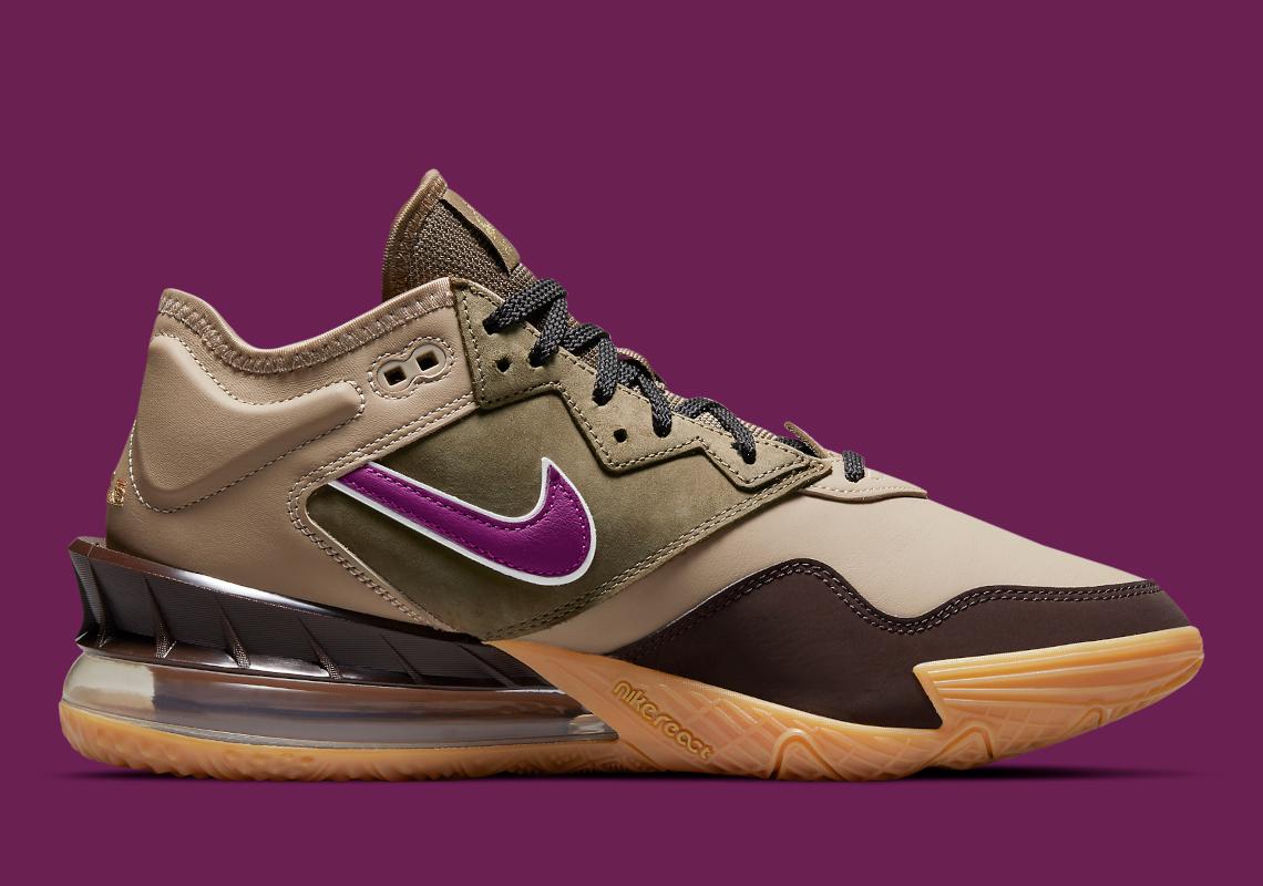 """atmos x Nike LeBron 18 Low """"Viotech"""""""