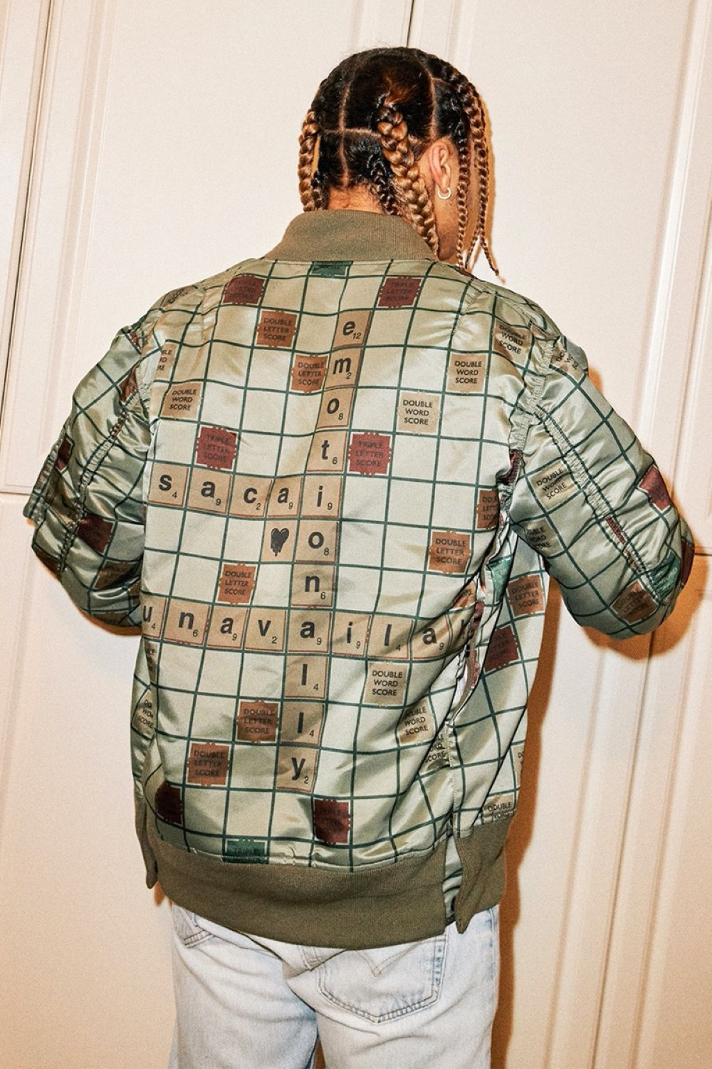sacai x Emotionally Unavailable - Collection Scrabble