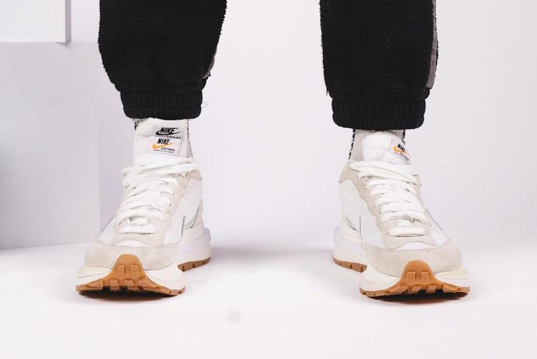 """sacai x Nike Vaporwaffle """"Sail"""""""