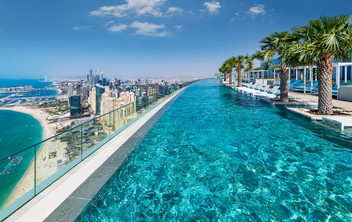 Address Beach Resort Dubaï - L'Infinity pool