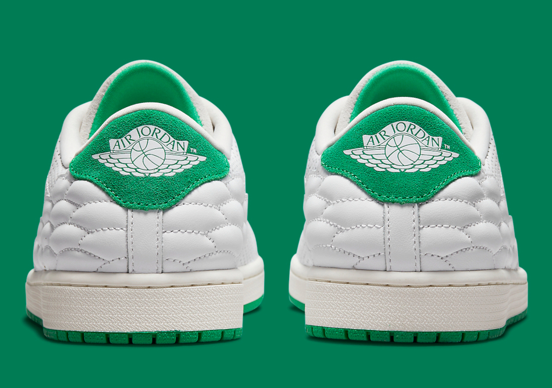 Air Jordan 1 Centre Court White Green