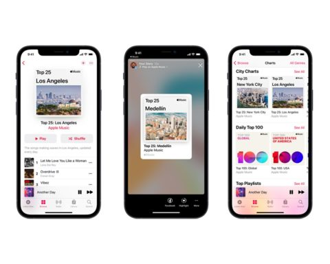 Apple Music City Charts
