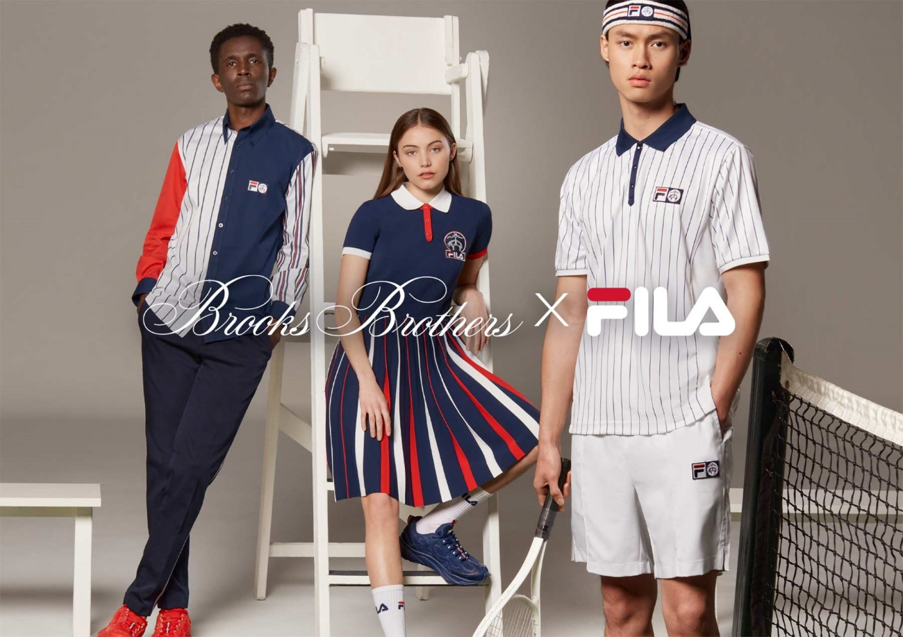 FILA x Brooks Brothers
