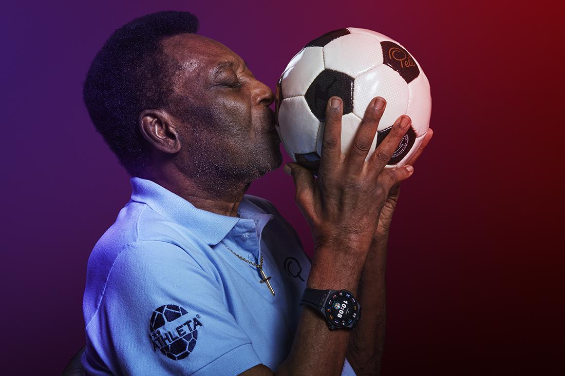 Hublot Big Bang e - UEFA EURO 2020 - Pelé