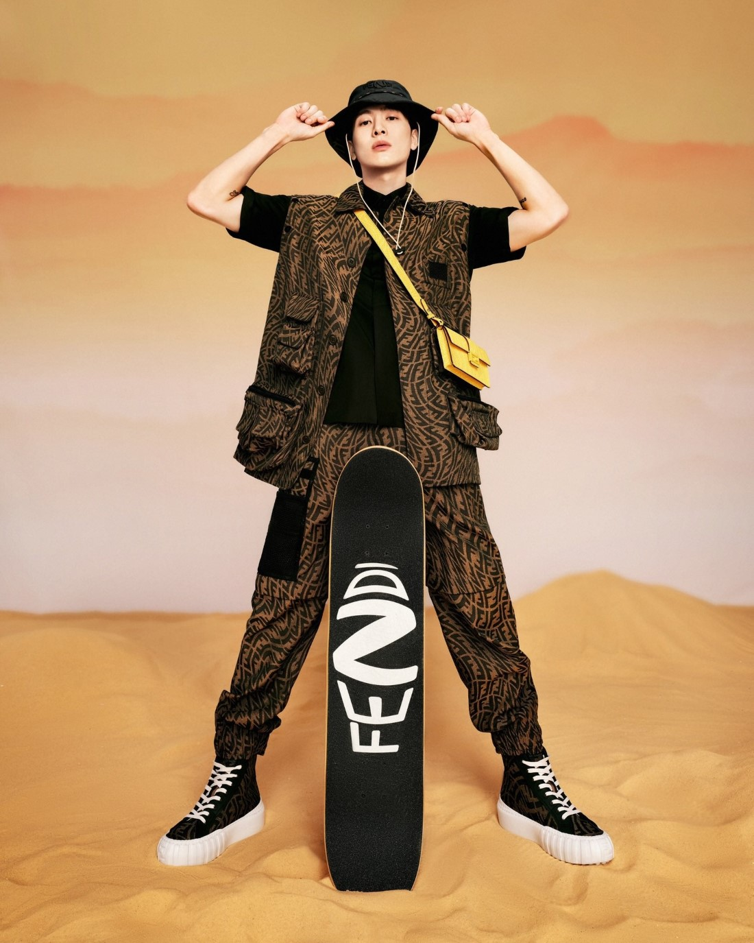 Jackson Wang x FENDI FF Vertigo Capsule