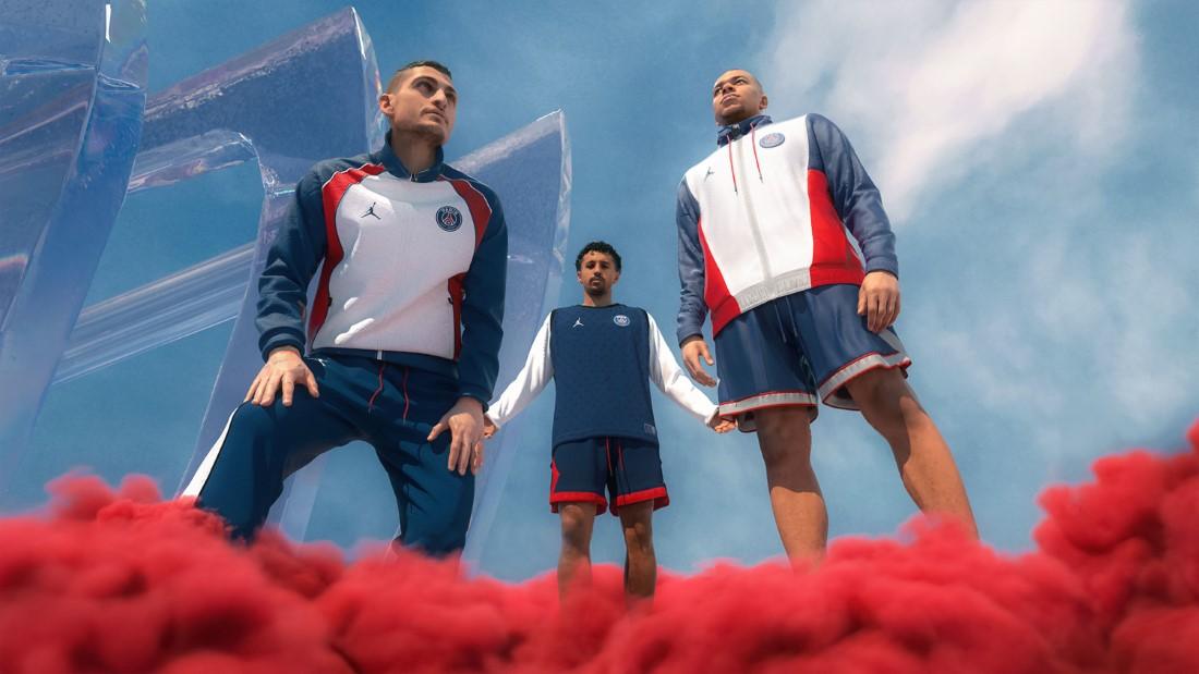 Jordan Brand x PSG - Maillot Domicile 2021-2022