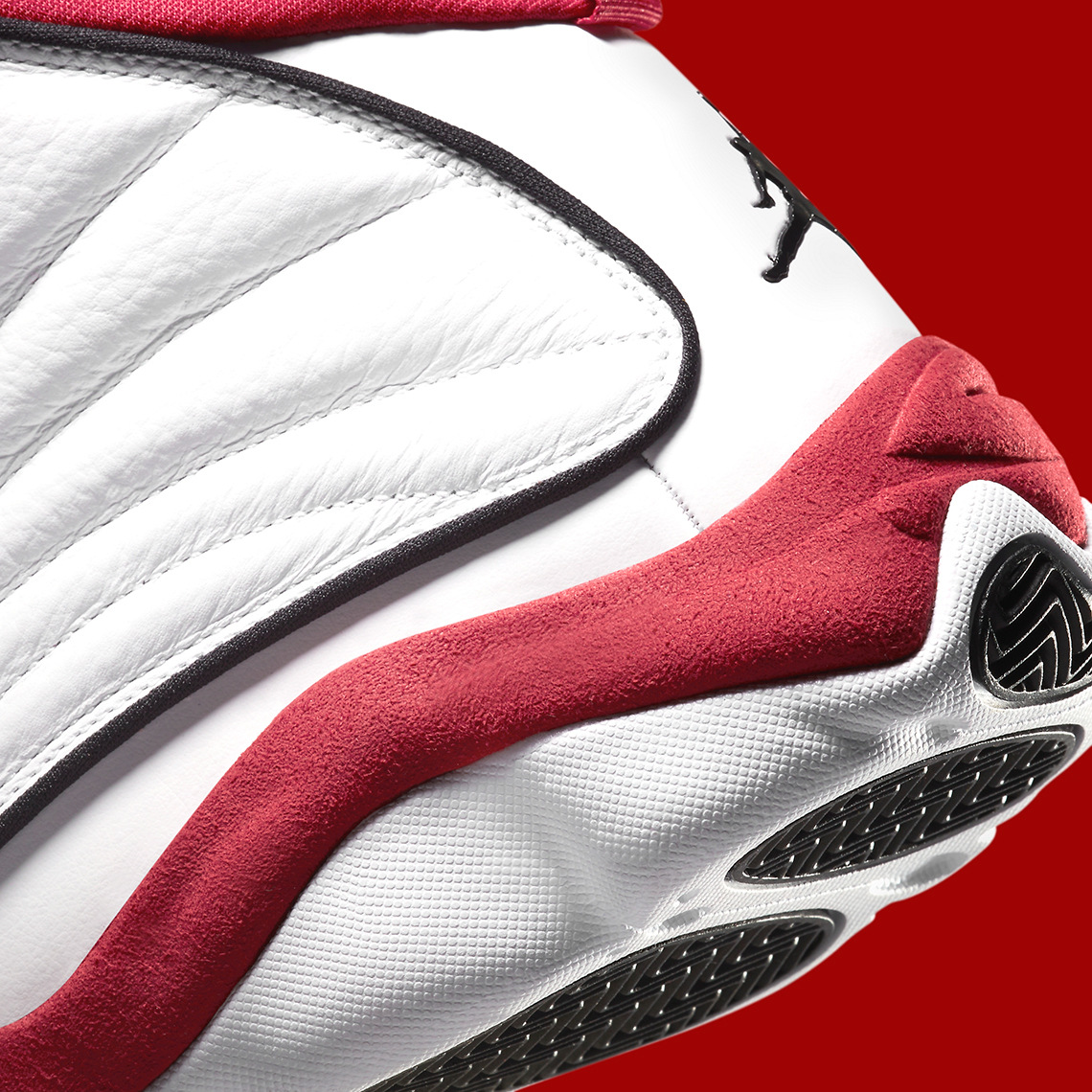 "Jordan Pro Strong ""White Red"""