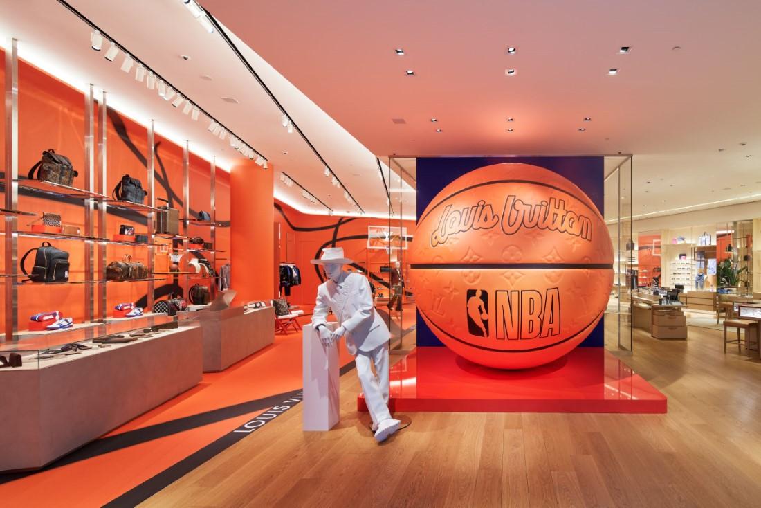 LV x NBA - Louis Vuitton Shibuya Men's Store