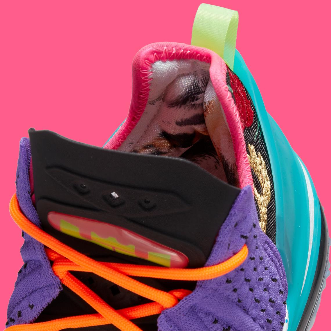 Nike LeBron 18 Psychic Purple