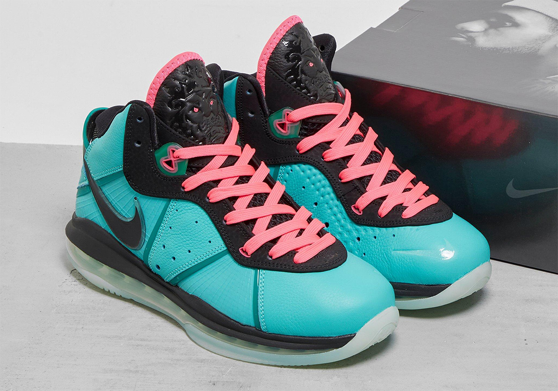 "Nike LeBron 8 ""South Beach"""
