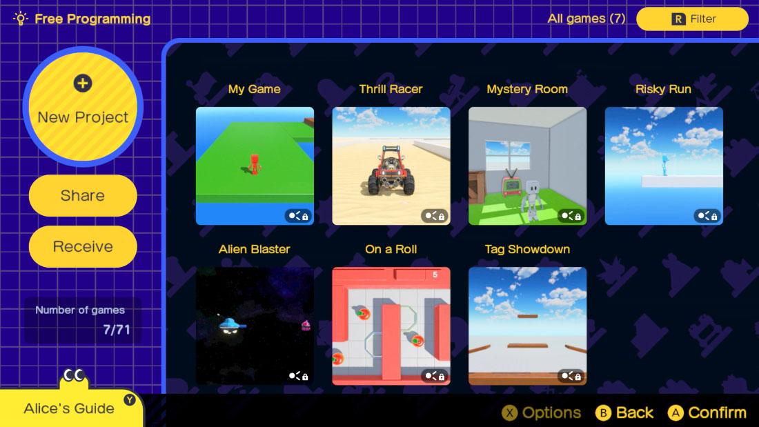 Nintendo Switch - L'atelier du jeu vidéo