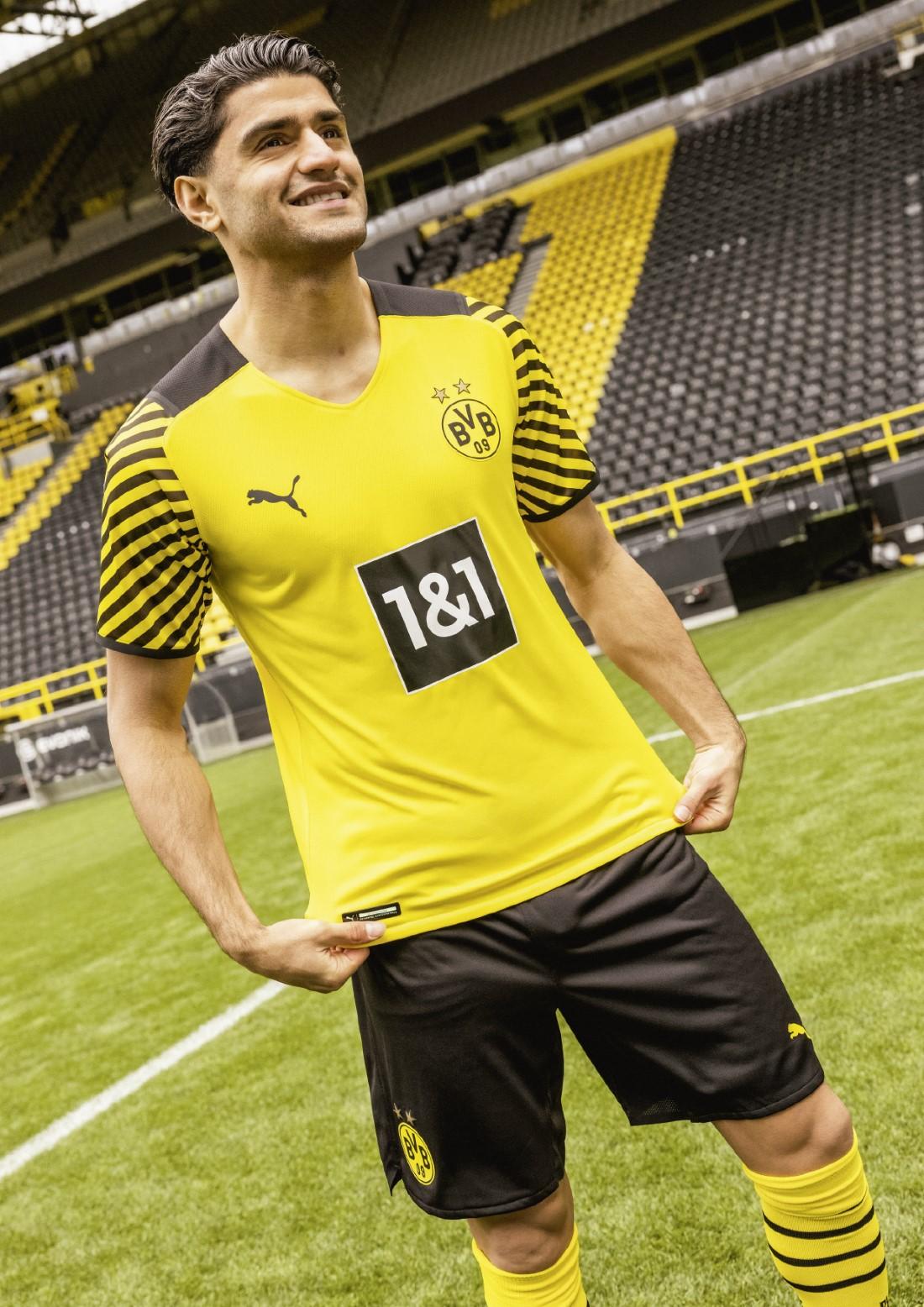 PUMA Football - Borussia Dortmund Home Kit 2021-2022