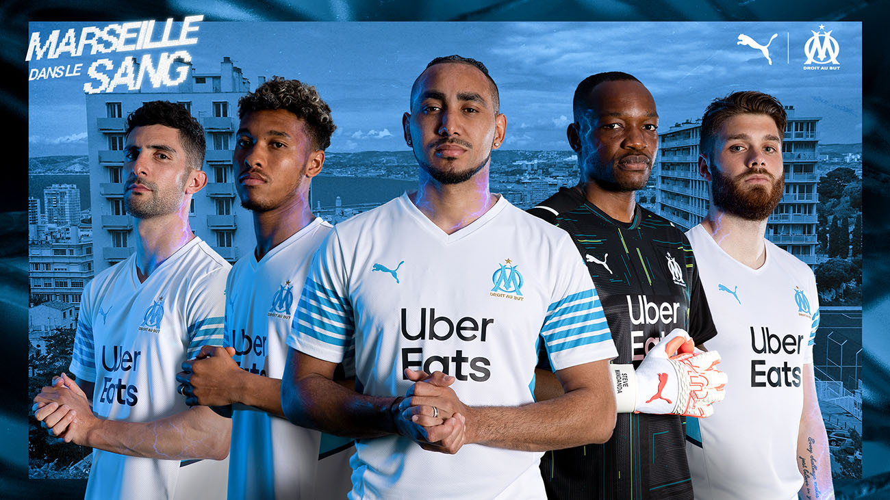 PUMA Football x OM - Maillot Domicile 2021-2022