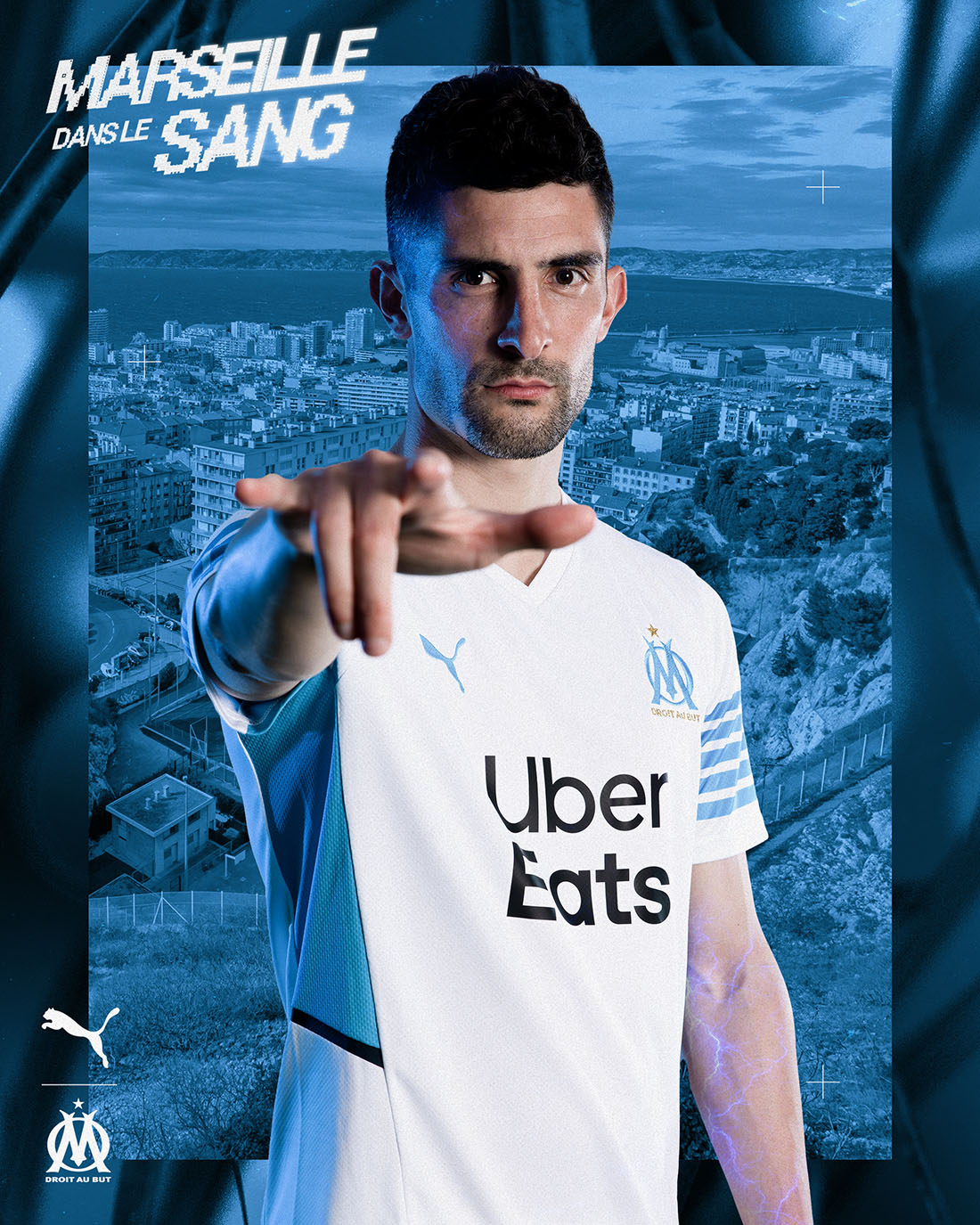 PUMA Football x OM - Maillot Domicile 2021-2022 - Alvaro