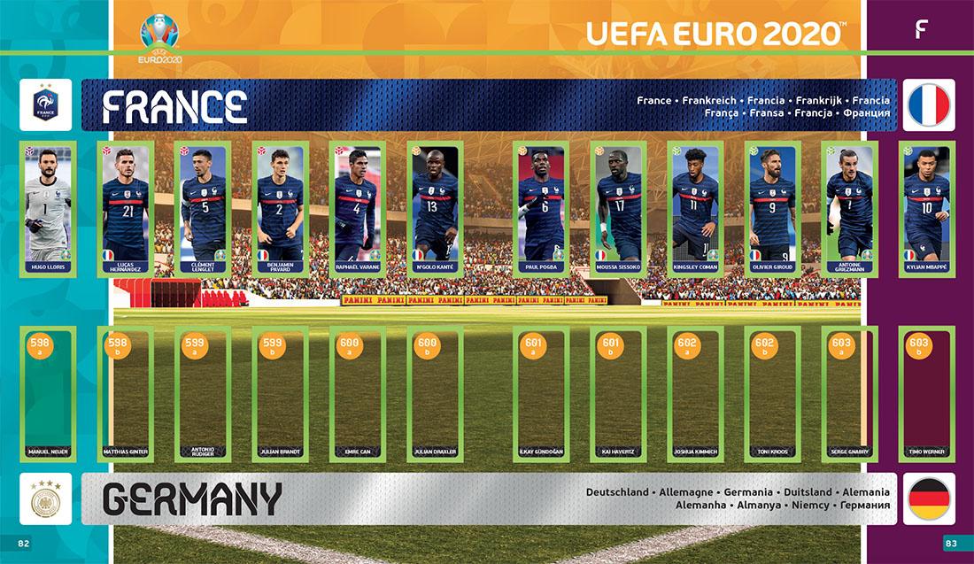 Panini x UEFA EURO 2020