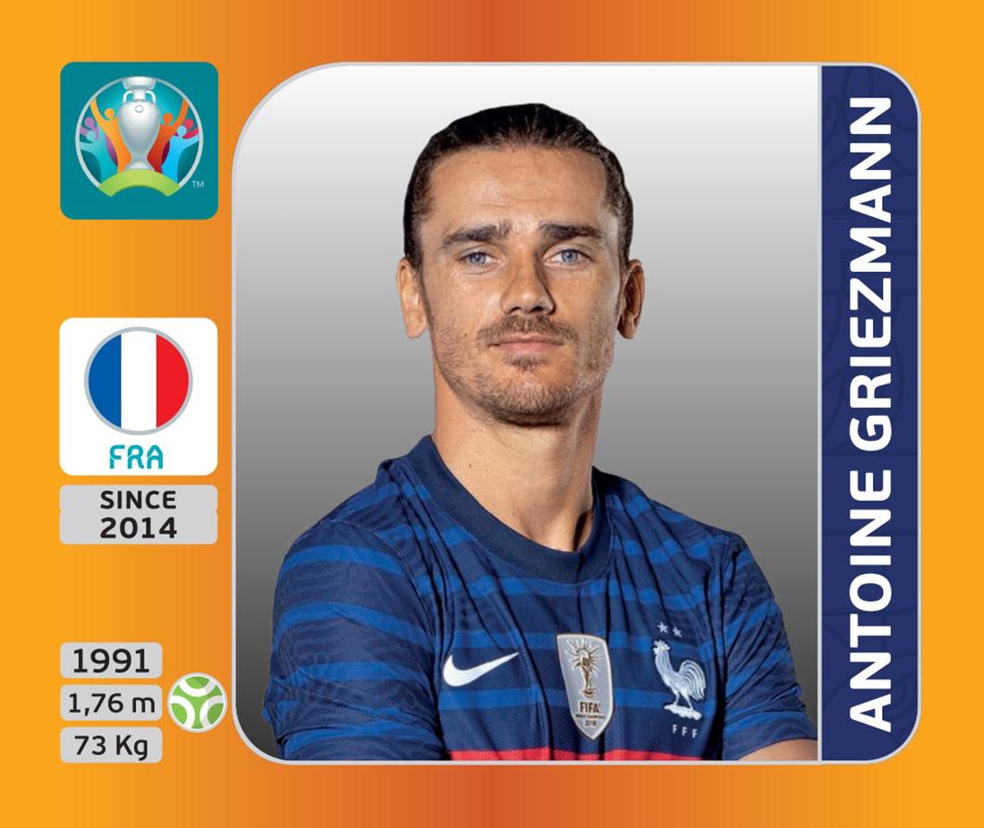 Panini x UEFA EURO 2020 - Antoine Griezmann
