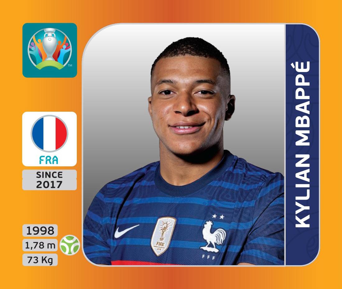 Panini x UEFA EURO 2020 - Kylian MBappé