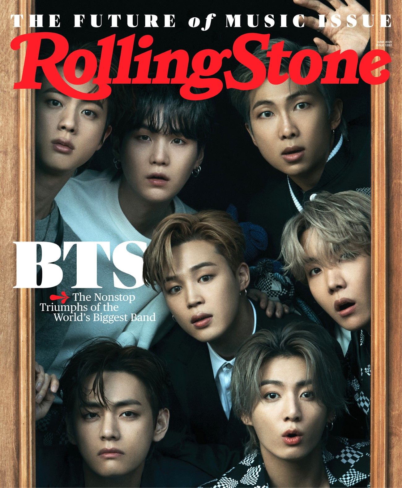Rolling Stone June 2021 - BTS
