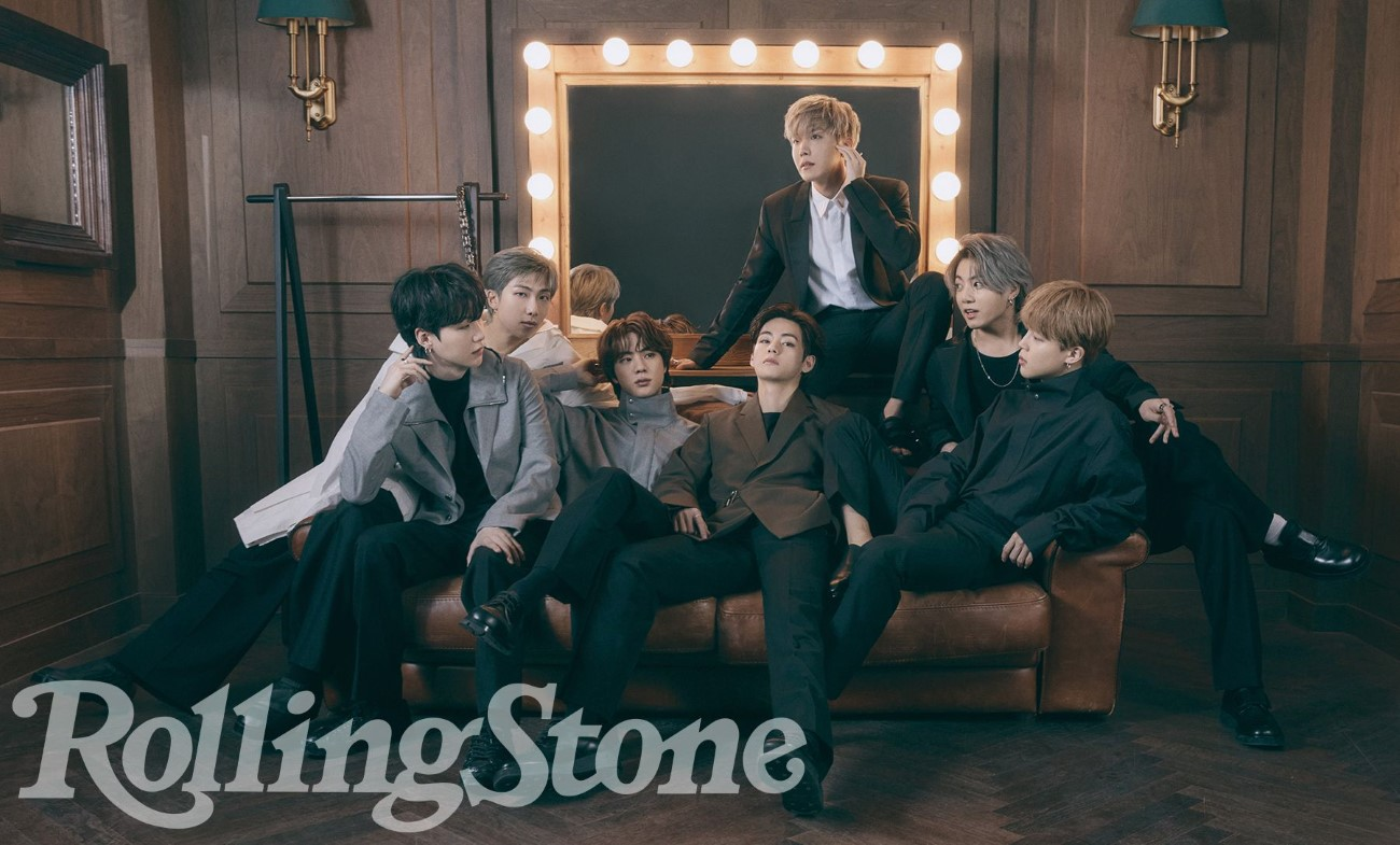 Rolling Stone June 2021 - BTS