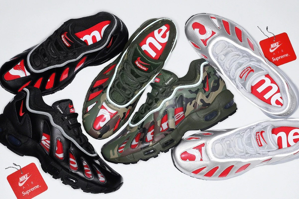 Supreme x Nike Air Max 96 Printemps 2021