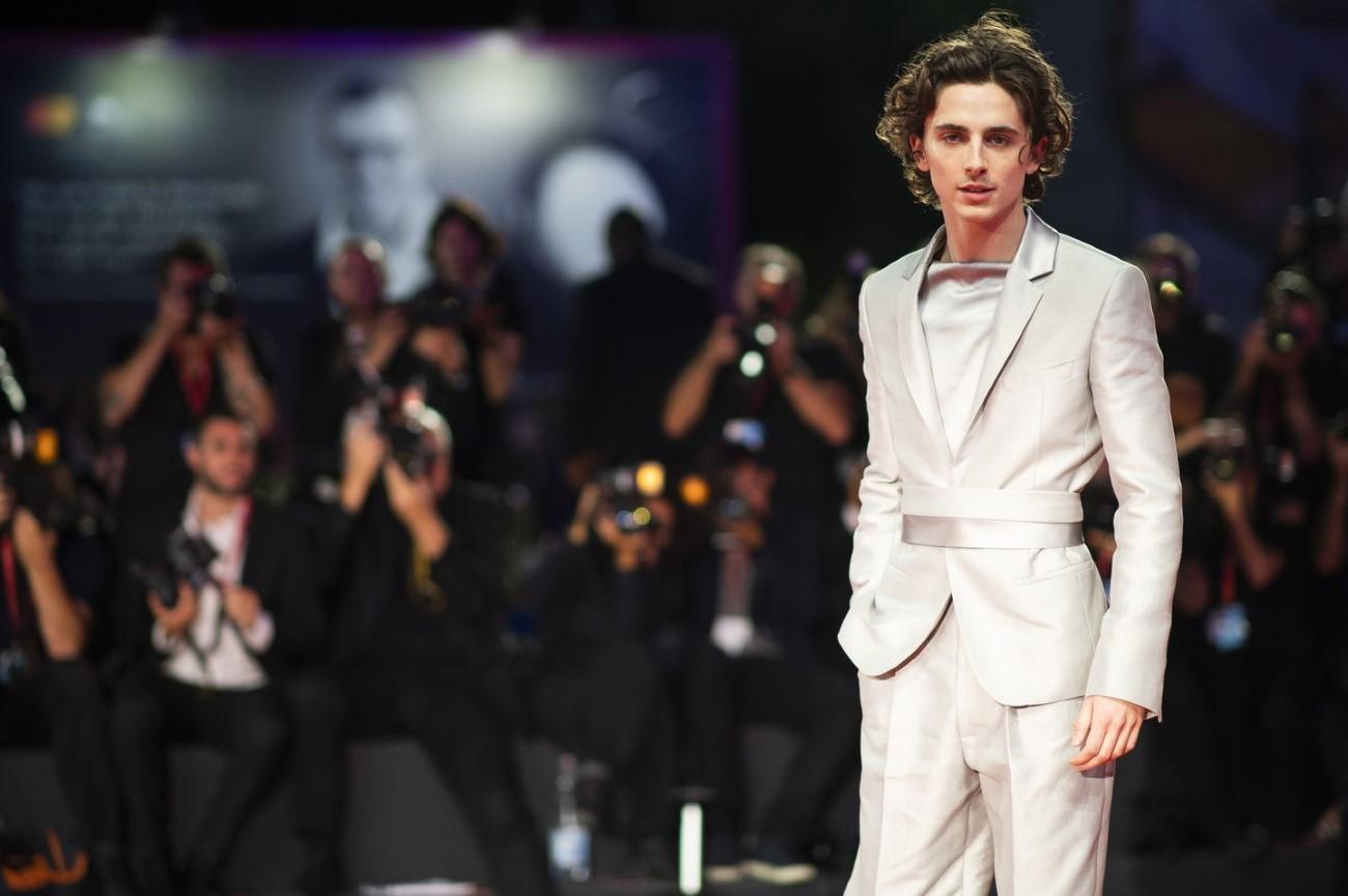 Timothée Chalamet - Met Gala 2021