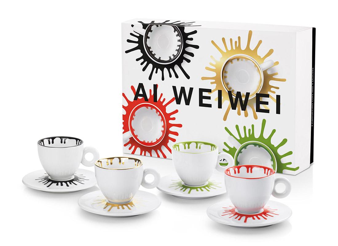 illycaffè x Ai Weiwei