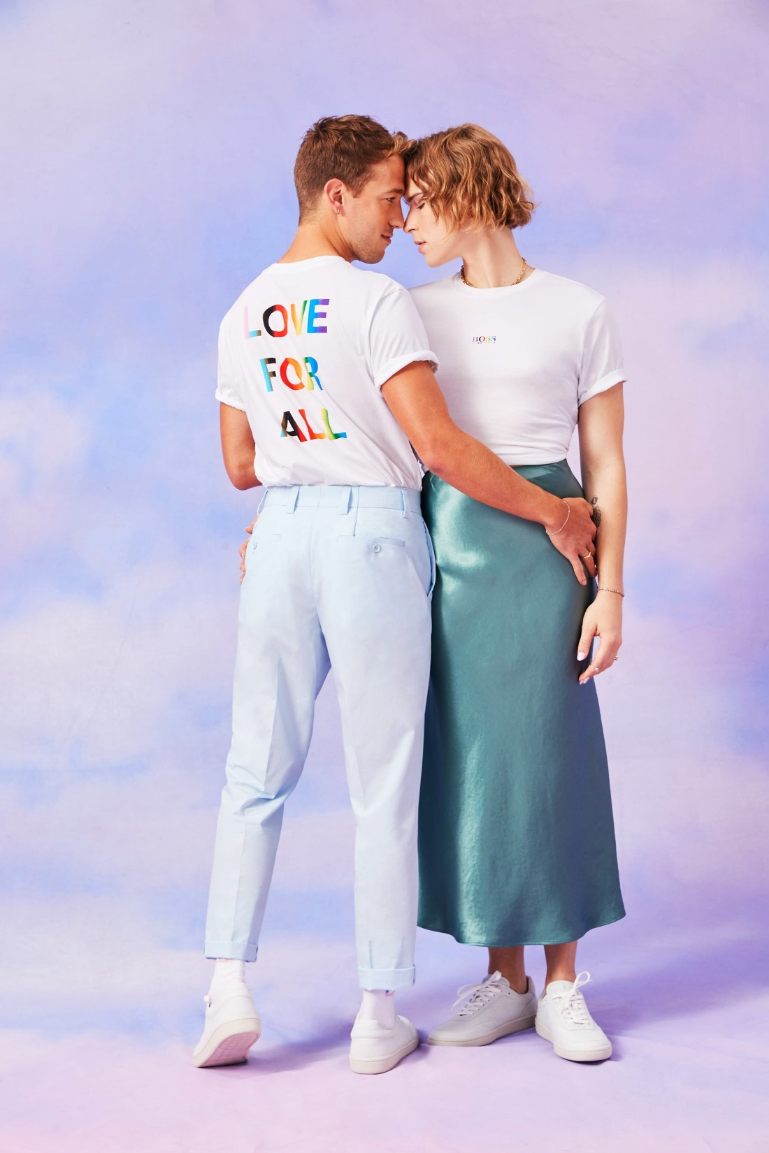 BOSS Pride 2021 Campagne - Tommy Dorfman & Peter Zurkuhlen
