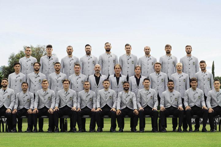 Giorgio Armani x Equipe nationale italienne de football - Euro 2021