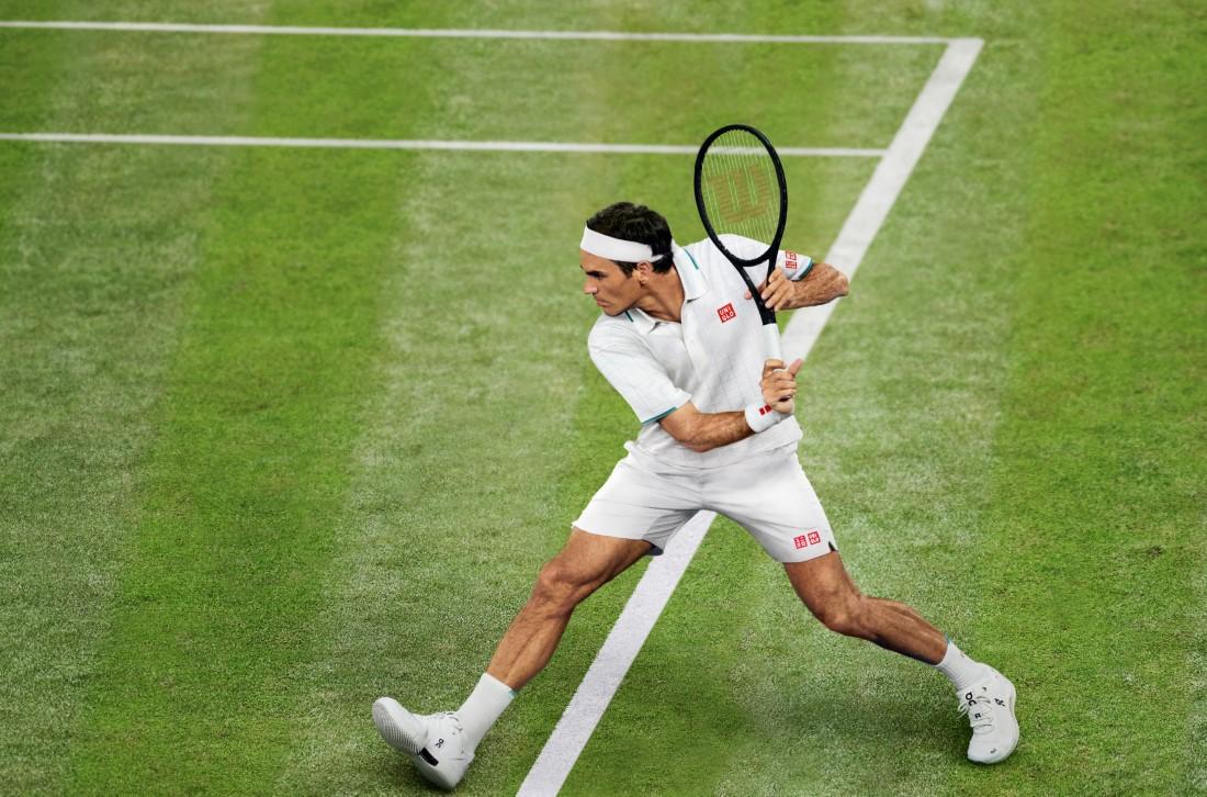 UNIQLO Whimbledon - Roger Federer