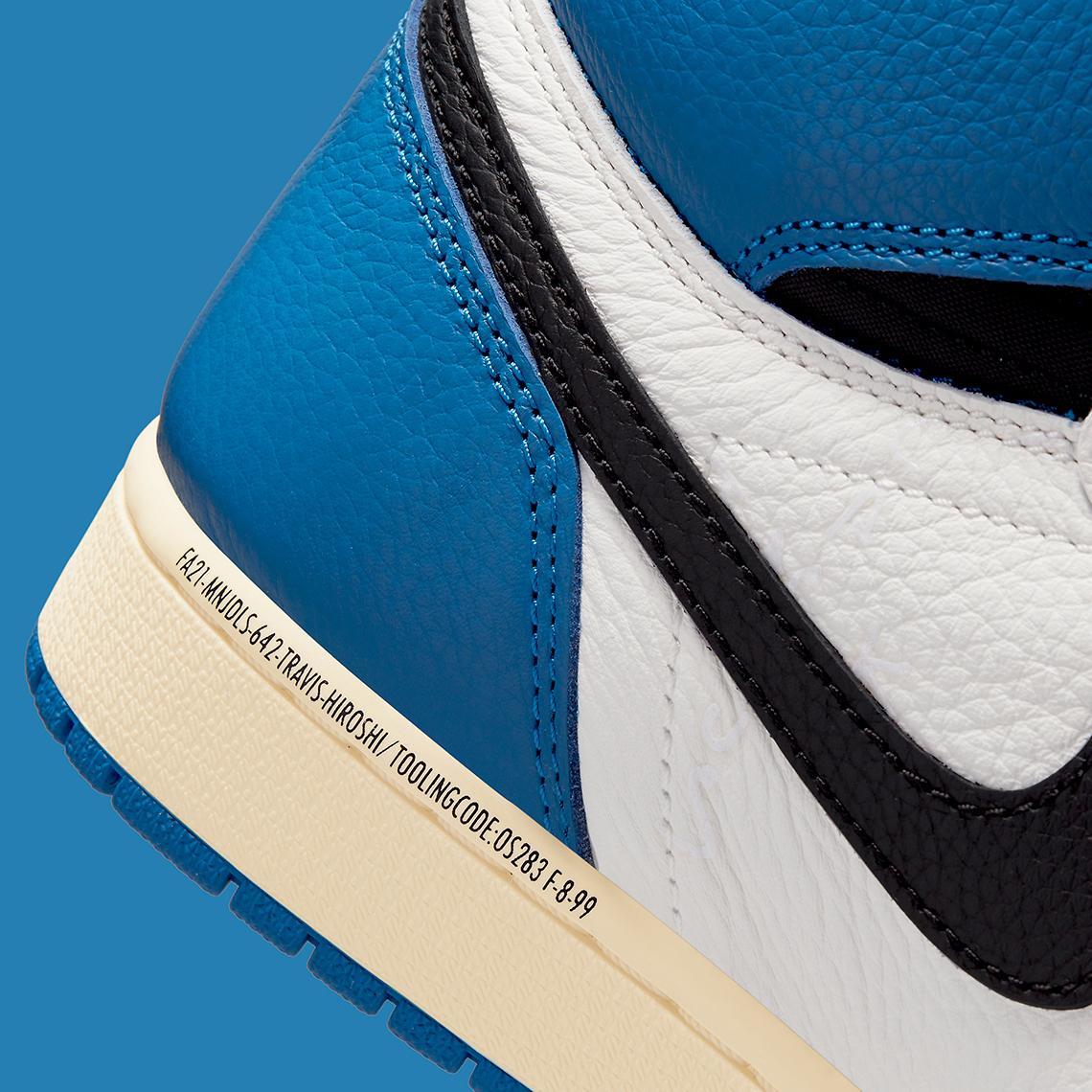 Air Jordan 1 High x Travis Scott x fragment