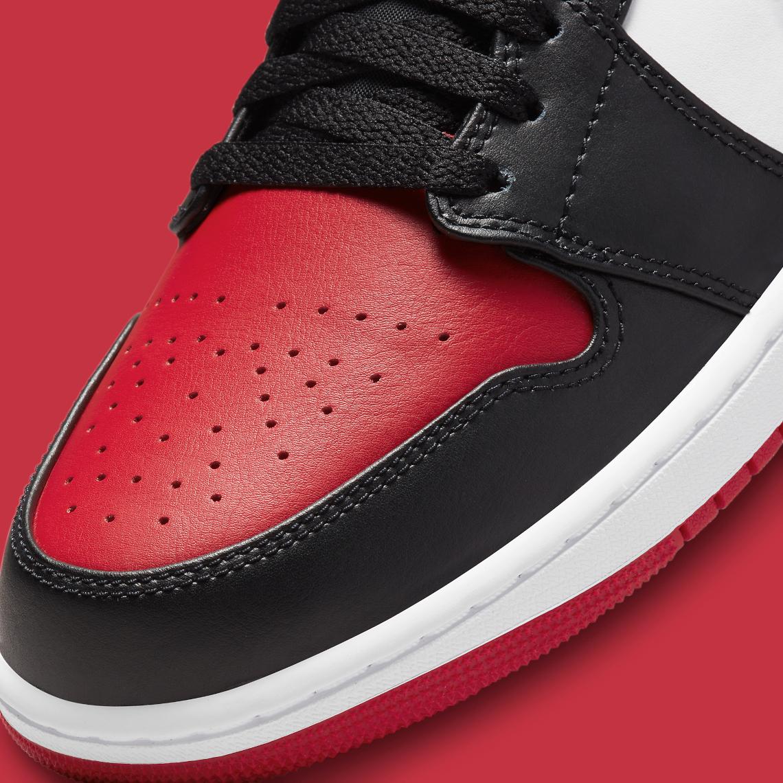 """Air Jordan 1 Low """"Bred Toe"""""""