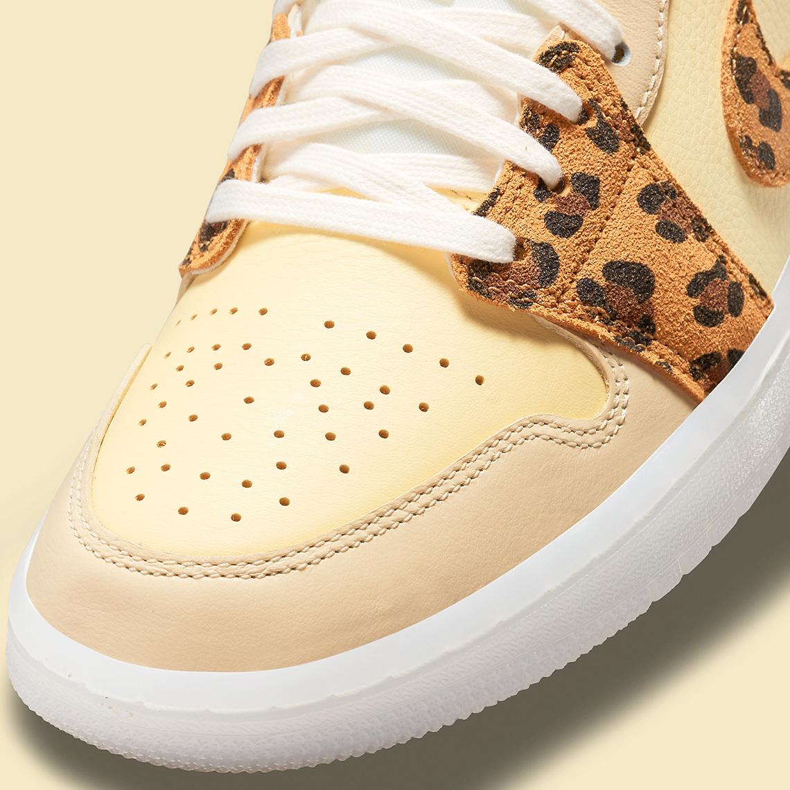 Air Jordan 1 Low SNKRS Leopard