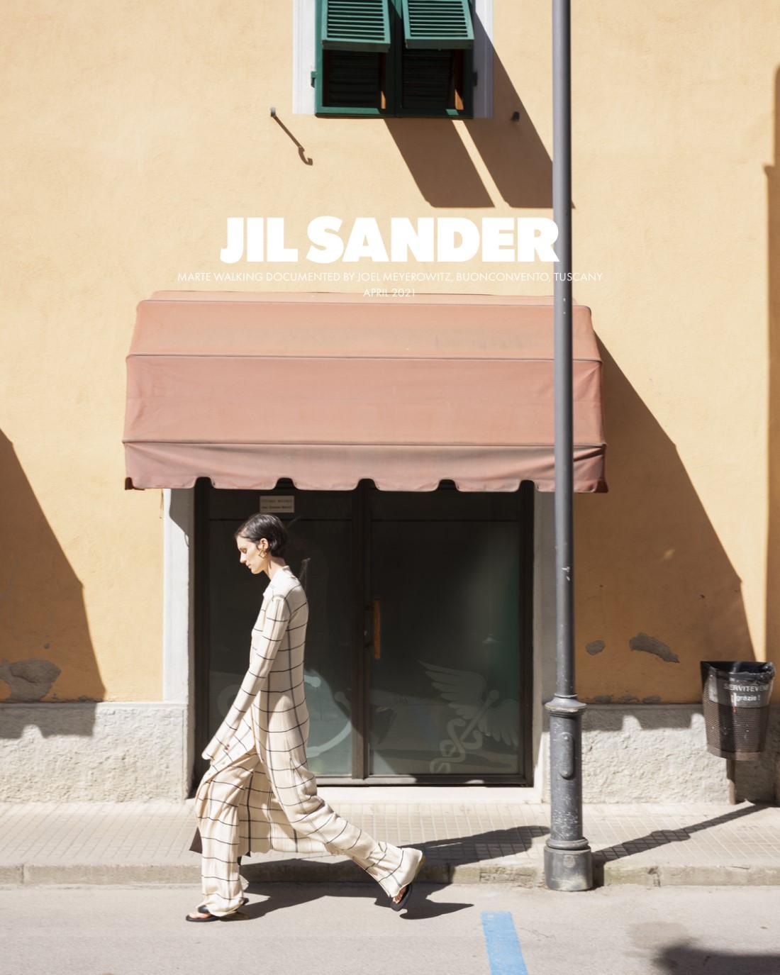 Jil Sander - Campagne Automne-Hiver 2021-2022