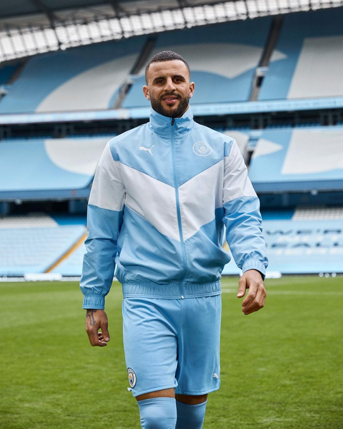 PUMA Football - Manchester City Kit Domicile 2021-2022