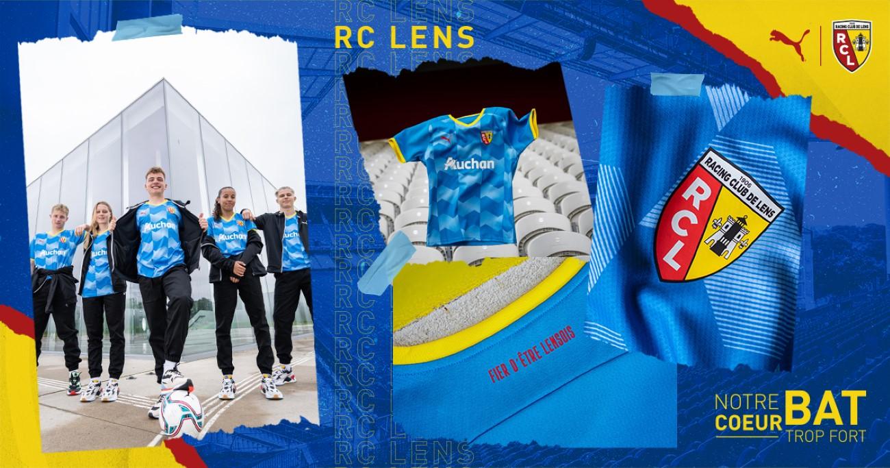 PUMA Football x Racing Club de Lens - 3è maillot 2021-2022