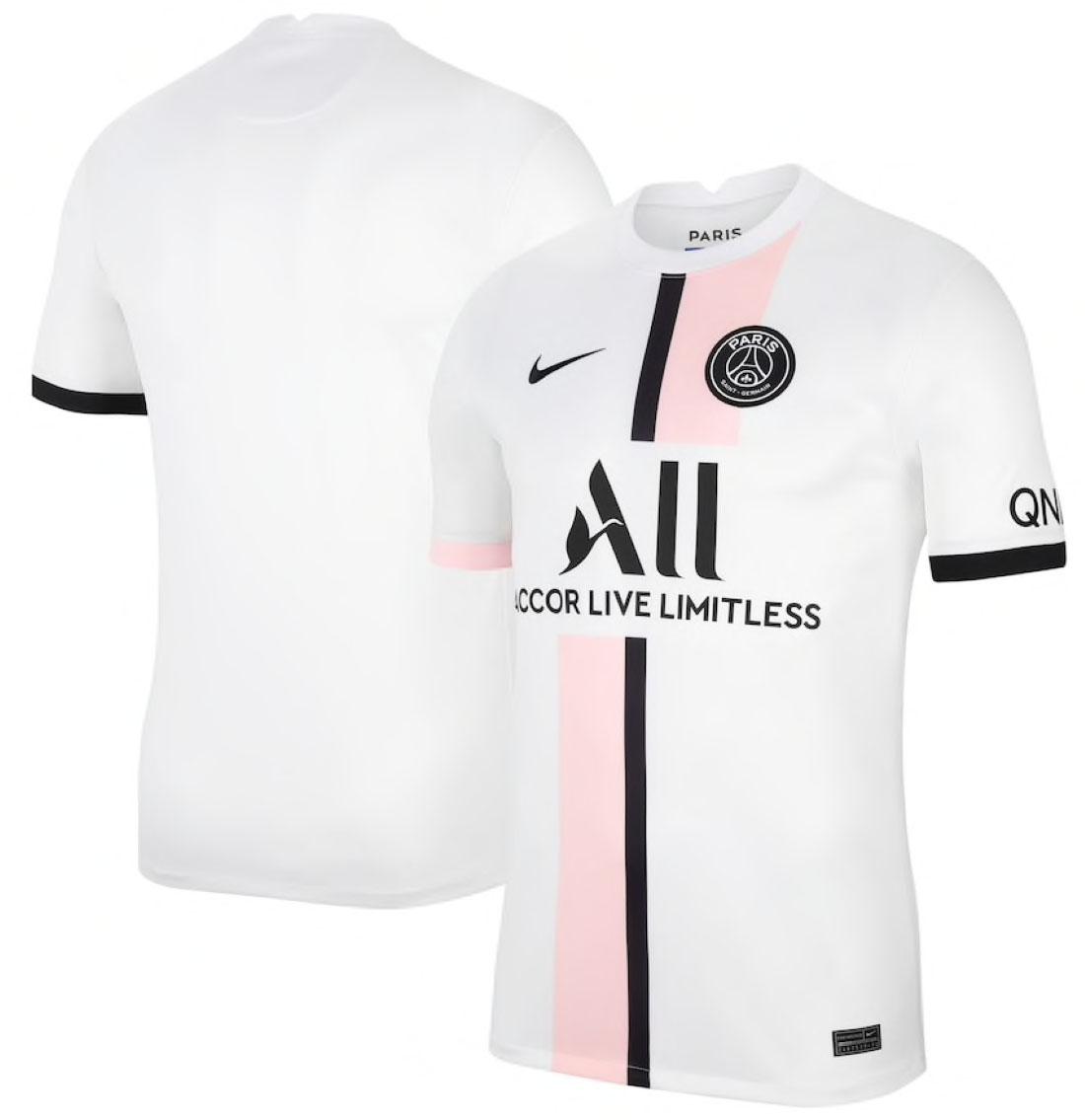 Paris Saint-Germain Maillot Extérieur 2021-22