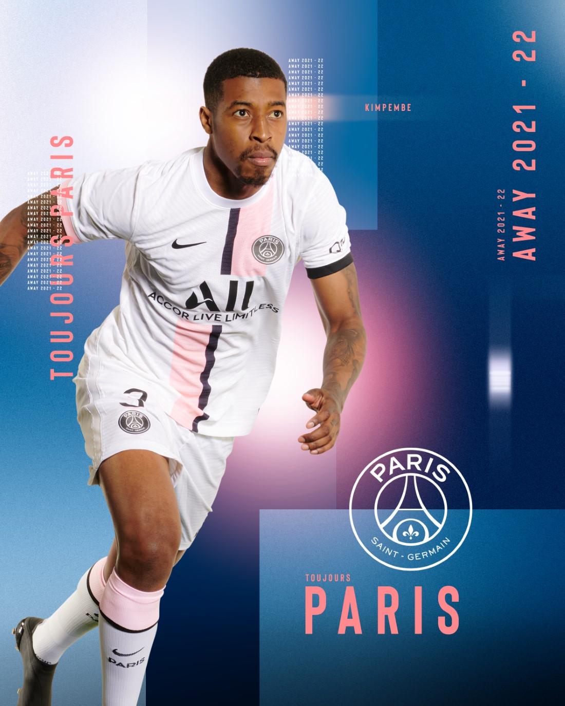 Paris Saint-Germain Maillot Extérieur 2021-22 - Kimpembe
