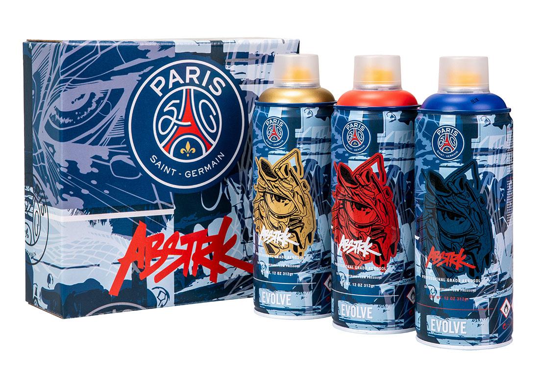 Paris Saint-Germain x ABSTRK