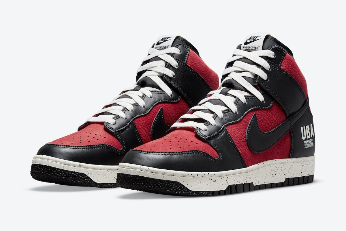 """UNDERCOVER x Nike Dunk High """"UBA Gym Red"""""""