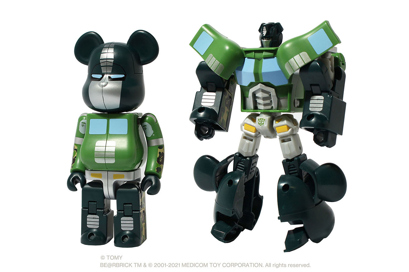 BE@RBRICK x BAPE Transformers Optimus Prime