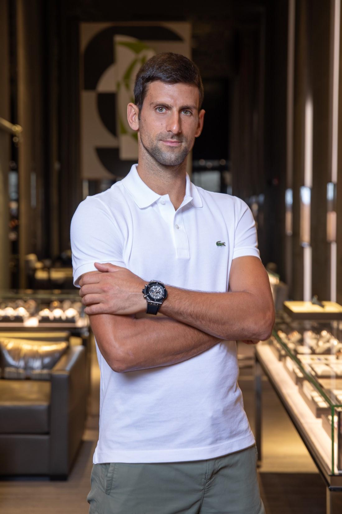 Hublot x Novak Djokovic