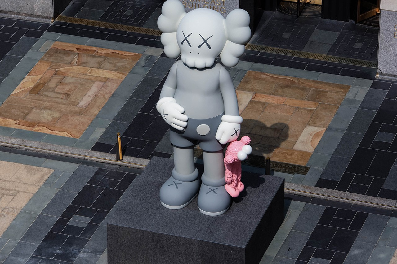 KAWS SHARE x Rockefeller Center