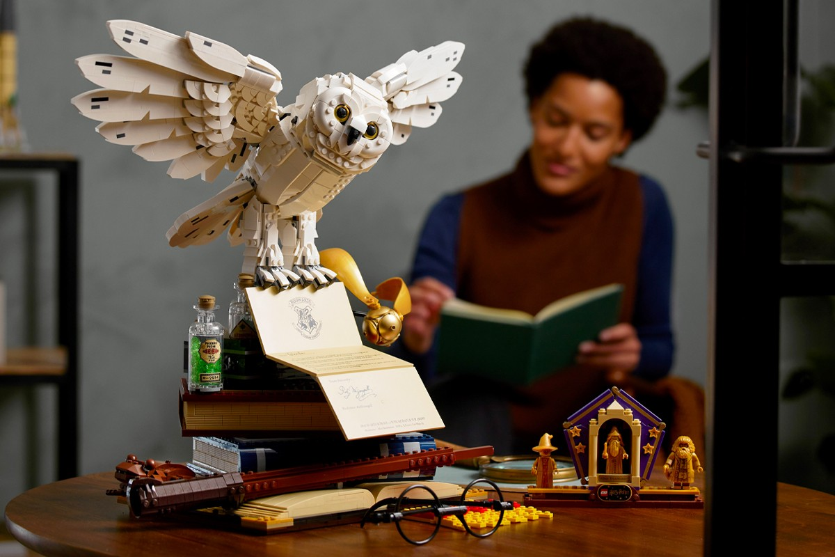 Ensemble Édition Collector LEGO x Harry Potter Poudlard Icons