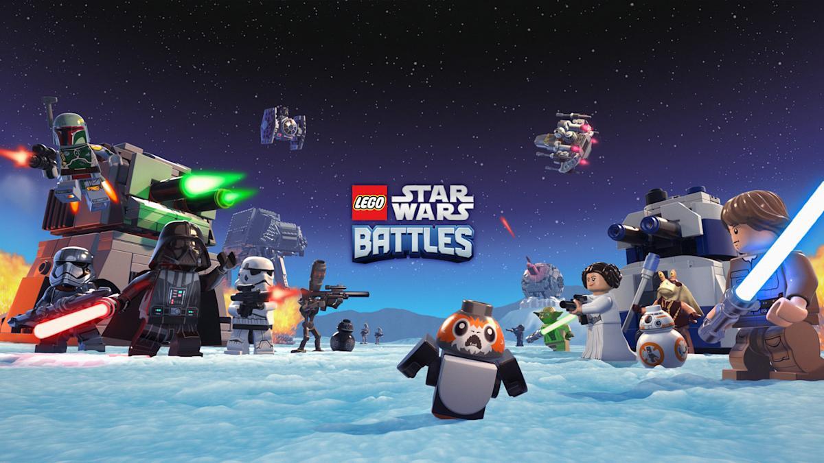 LEGO x Star Wars x Apple Arcade